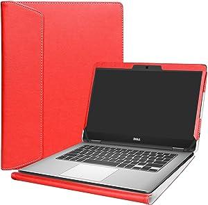 """Alapmk Protective Case Cover for 14"""" Dell Latitude 14 5491 5495 5490 5480 5488 e5470 / Latitude 14 e7470 Series Laptop(Warning:Not fit Latitude 14 7490 7480 E7450/Latitude 14 E5450),Red"""