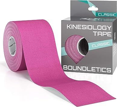 Cinta Kinesiología - Cinta de 5m x 5cm para vendaje de la columna ...