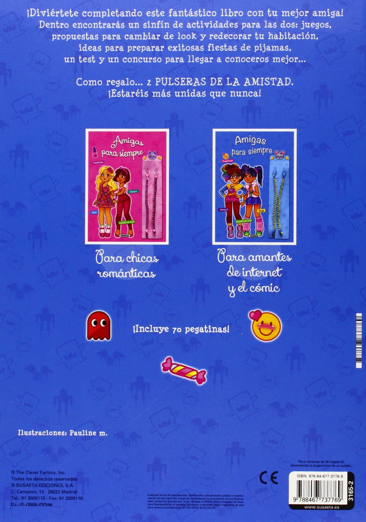 Amigas para siempre (2 títulos): Equipo Susaeta: 9788467737769: Amazon.com: Books