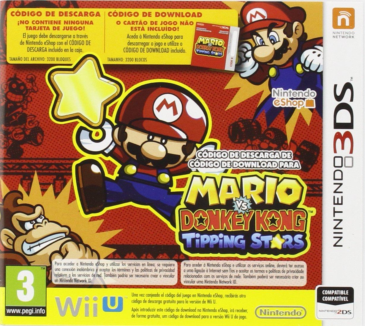 Mario vs. Donkey Kong: Tipping Stars: nintendo 3ds: Amazon ...