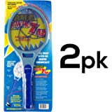 BugKwikZap YBUGZP013 Pinwheel Most Powerful Bug Zapper for Large Bugs, Takes 2 C Batteries, 4000 Volt (Pack of 2)