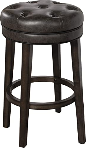 Hillsdale Krauss Backless Swivel Bar Height Stool