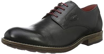 Camel Active Outback 11 - Zapatos con Cordones para Hombre, Color Negro (Black), Talla 46