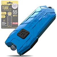 Nitecore Tube Keychain Light - USB Rechargeable 55 Lumens 9.6 g [New Version - 2021] [ Azure ]