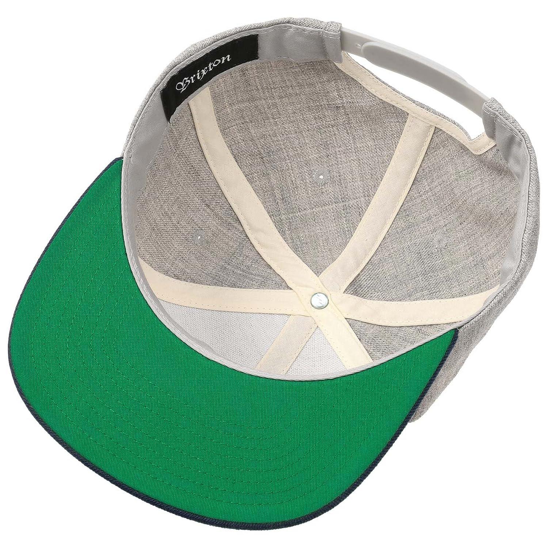 690b59485 Harold Twotone Snapback Cap Brixton cap base cap (One Size - grey)   Amazon.co.uk  Clothing