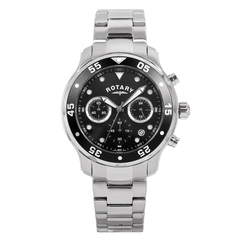 Rotary Herren - Armbanduhr Man Chronograph Quarz GB00318-04