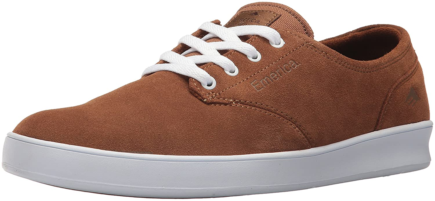 Emerica The Romero Laced - Brown/white/brown - 14 YVjj5I