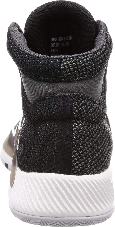 adidas Pro Bounce Madness 2019, Chaussures de Basketball Homme Noir Cblack Ftwwht Grefiv 000