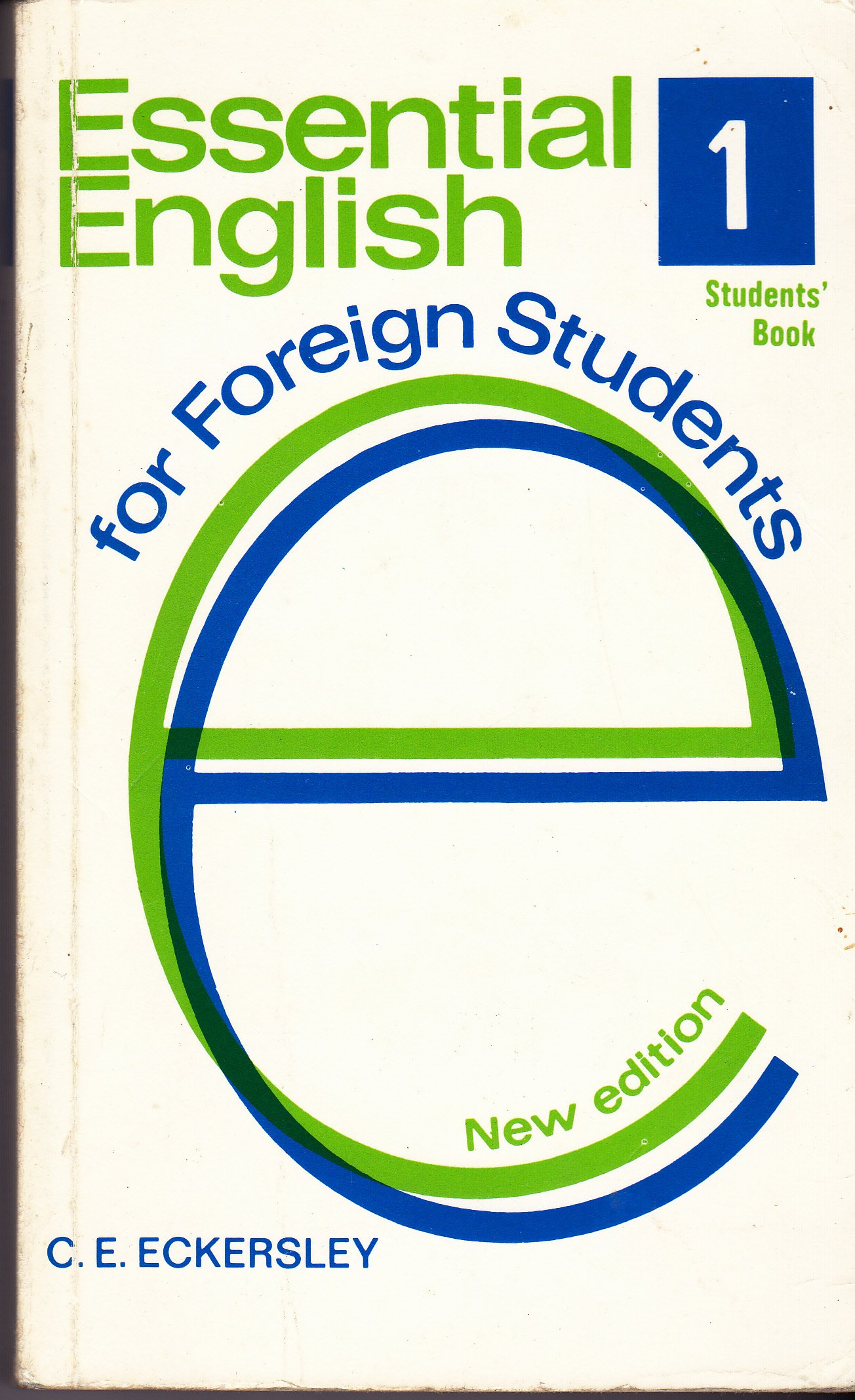 Eckersley c. E. Essential english for foreign students. Book 4 [pdf.