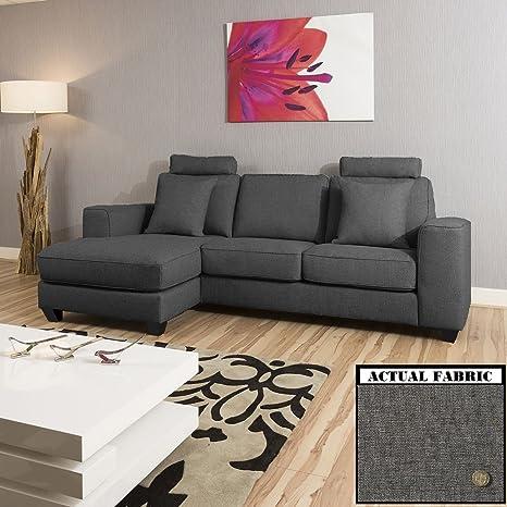 Extra grande moderno 3 plazas en forma de L/O sofás/Sofá ...