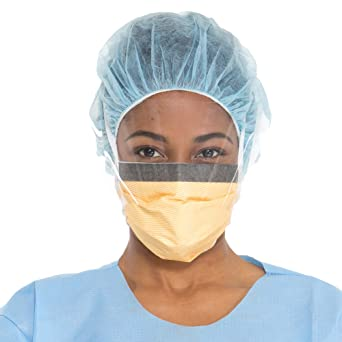 48247 Mask Face Surgical Wraparound Kimberly-clark Fluidshield