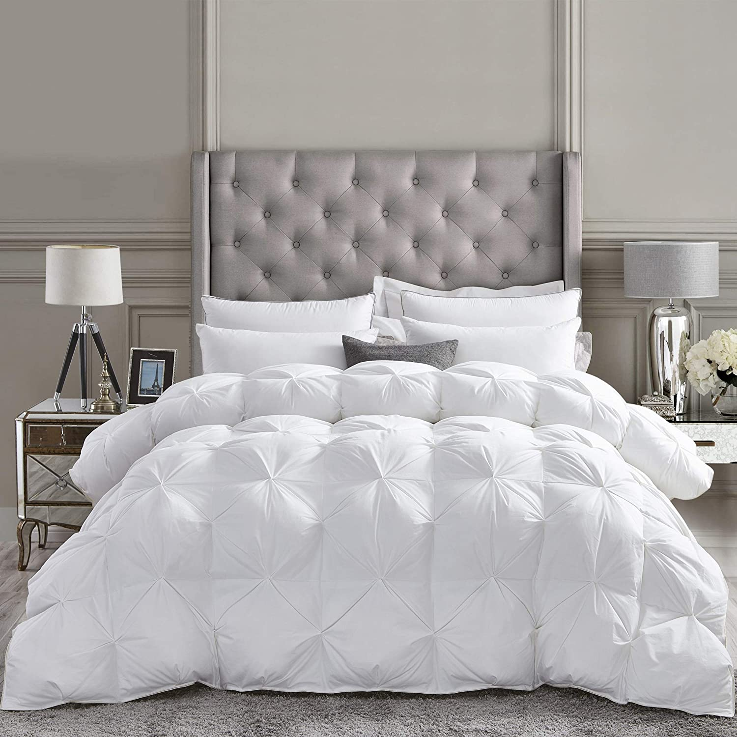 Details about  /Glorious Down Alternative Comforter 100//200//300 GSM Wine Solid US Full Size