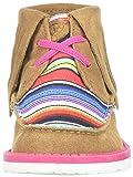 Kids' Baby Cruiser Fringe Sneaker, Dark Peanut/Pink Serape, 10 M US Toddler