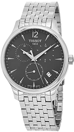 Tissot Chronograph Black Dial Men's Watch - T0636171106700 Men at amazon