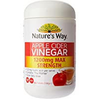 Nature's Way Apple Cider Vinegar, 1200mg, 0.17 Kilograms