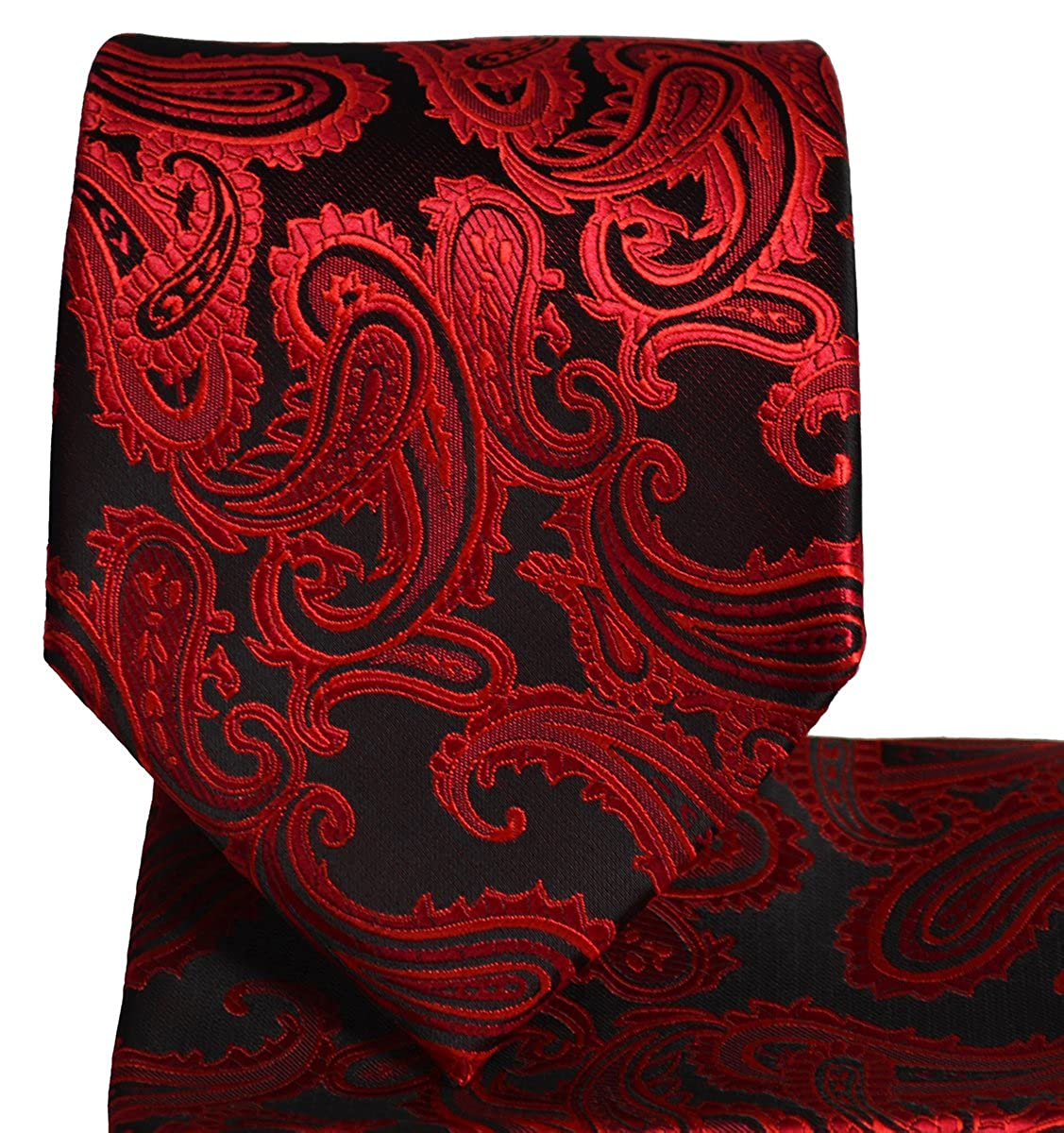 Paisley Mens Tie and Pocket Square Sets