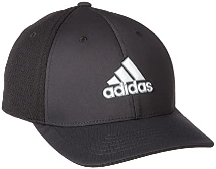 a30c941c2d0d9 adidas Tour Climacool Flex-Fit Structured Hat Mens Performance Golf Cap  Black L XL