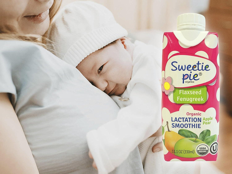 Amazon.com : Sweetie Pie Organics Lactation Smoothie, Apple Pear ...