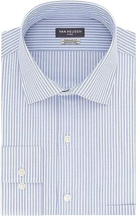 Van Heusen Camisa de vestir con cuello flexible y ajuste ...