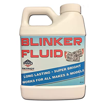 Patriot Wholesale Direct Blinker Fluid - 16oz - Great Gag Gift or Prank for Cars: Toys & Games