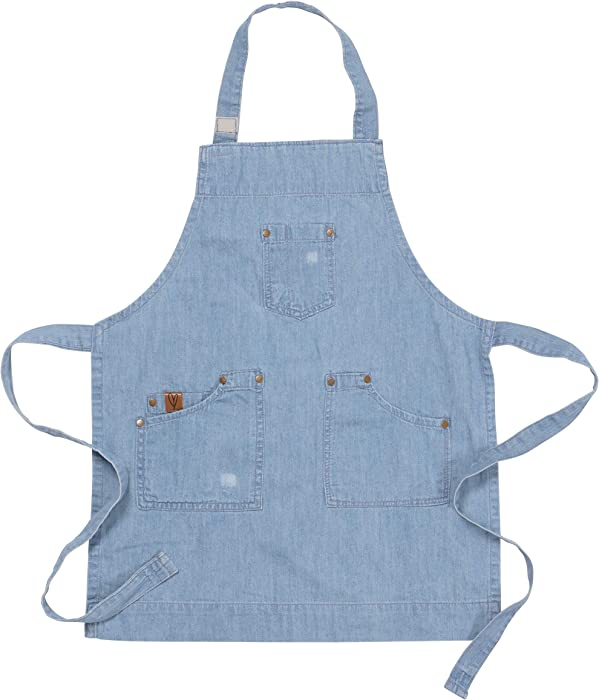 Top 8 Garden Apron Denim