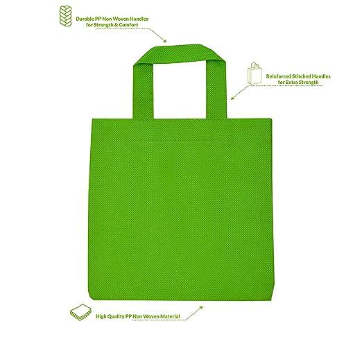 Amazon.com: Bolsas de regalo reutilizables con asas, bolsas ...