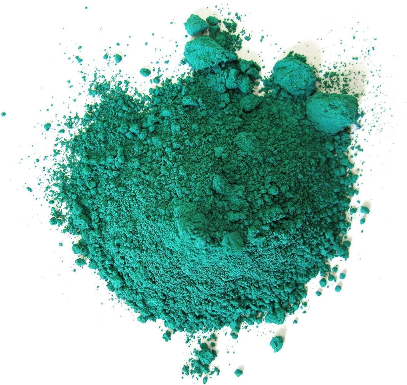 Inception Pro Infinite Verde Esmeralda - 100 g de Polvo de Pigmento - Aceite - Temple - Frescos - Encáusticos - Tintes - Coloreados