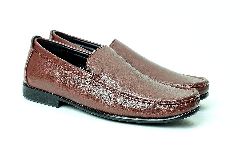 JAS Hombre Mocasines Casuales Sin Cordones Elegante Zapatos de Conducción - Marron, 23 EU: Amazon.es: Zapatos y complementos
