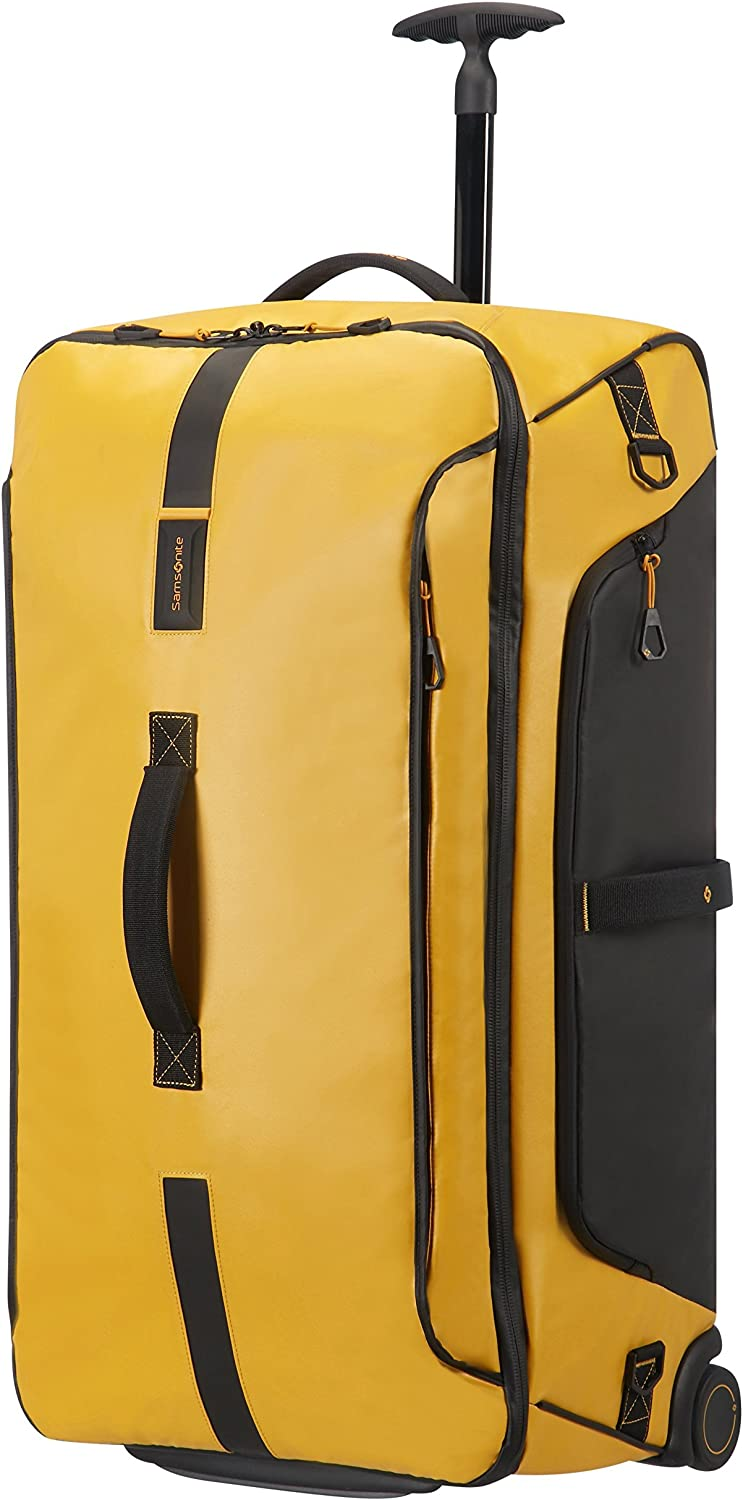 Samsonite Paradiver Light - Bolsa de viaje con ruedas, Amarillo (Yellow), L (79 cm - 121.5 L)
