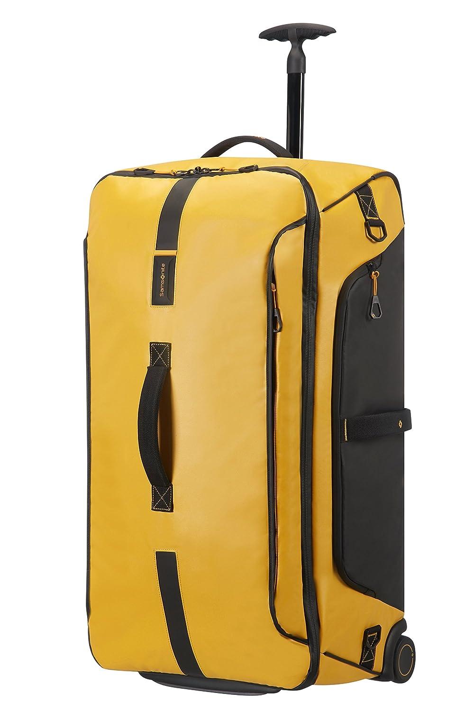 Samsonite Paradiver Light - Bolsa de viaje con ruedas, Amarillo (Yellow), L (79 cm - 121.5 L)