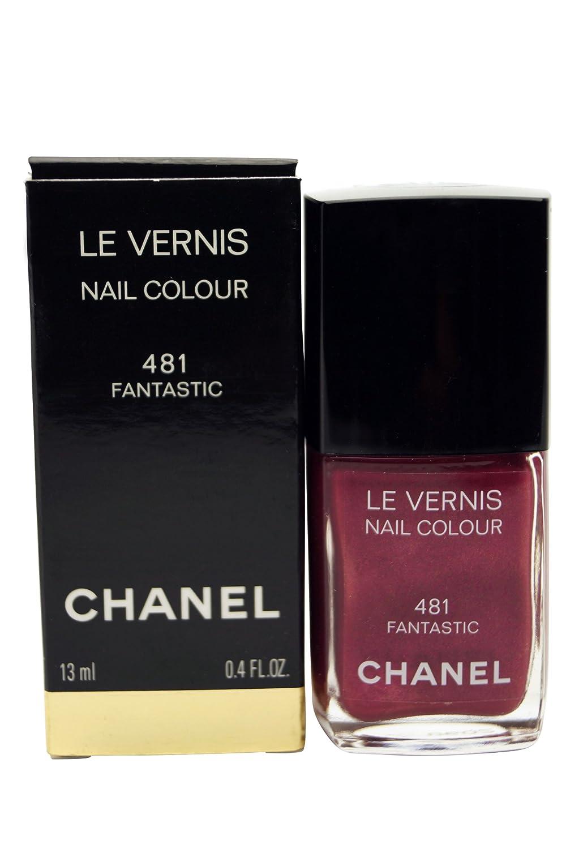 Amazon.com : Chanel Le Vernis Nail Colour FANTASTIC #481 Nail Polish ...