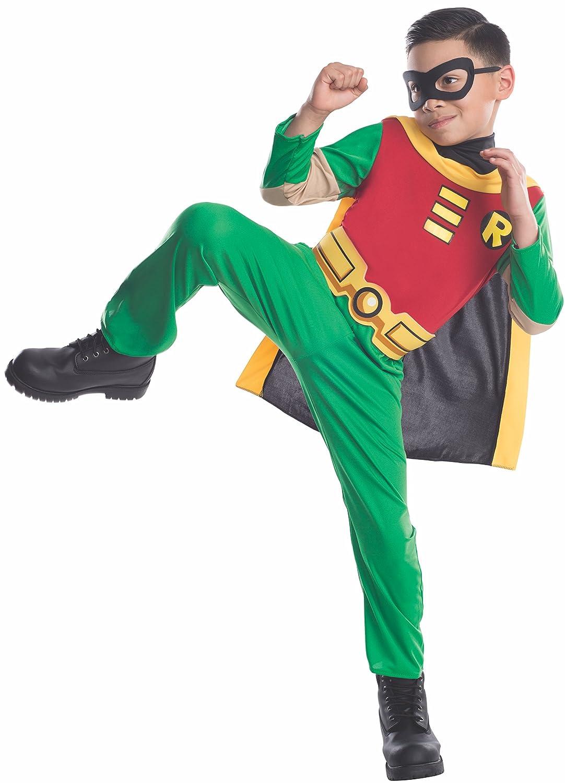 abbastanza Amazon.com: Teen Titans Child's Robin Costume, Small: Toys & Games BW72