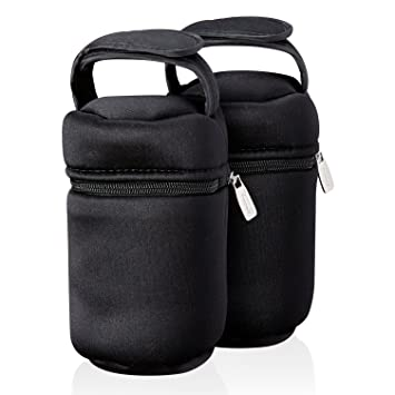Tommee Tippee Closer To Nature Insulated Bottle Bag Babies Bottles Carrier Case