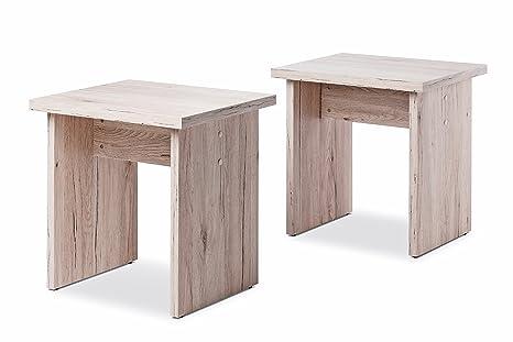 Inter trade corporation monaco set di sgabelli legno