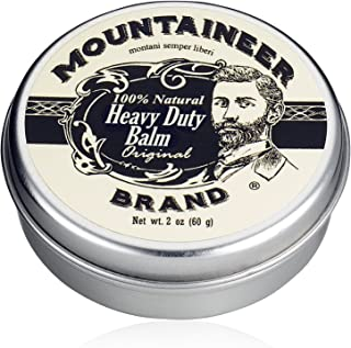 product image for Heavy-Duty Beard Balm by Mountaineer Brand (2 oz) | Beard Tamer and Leave-in Conditioner | Original Scent