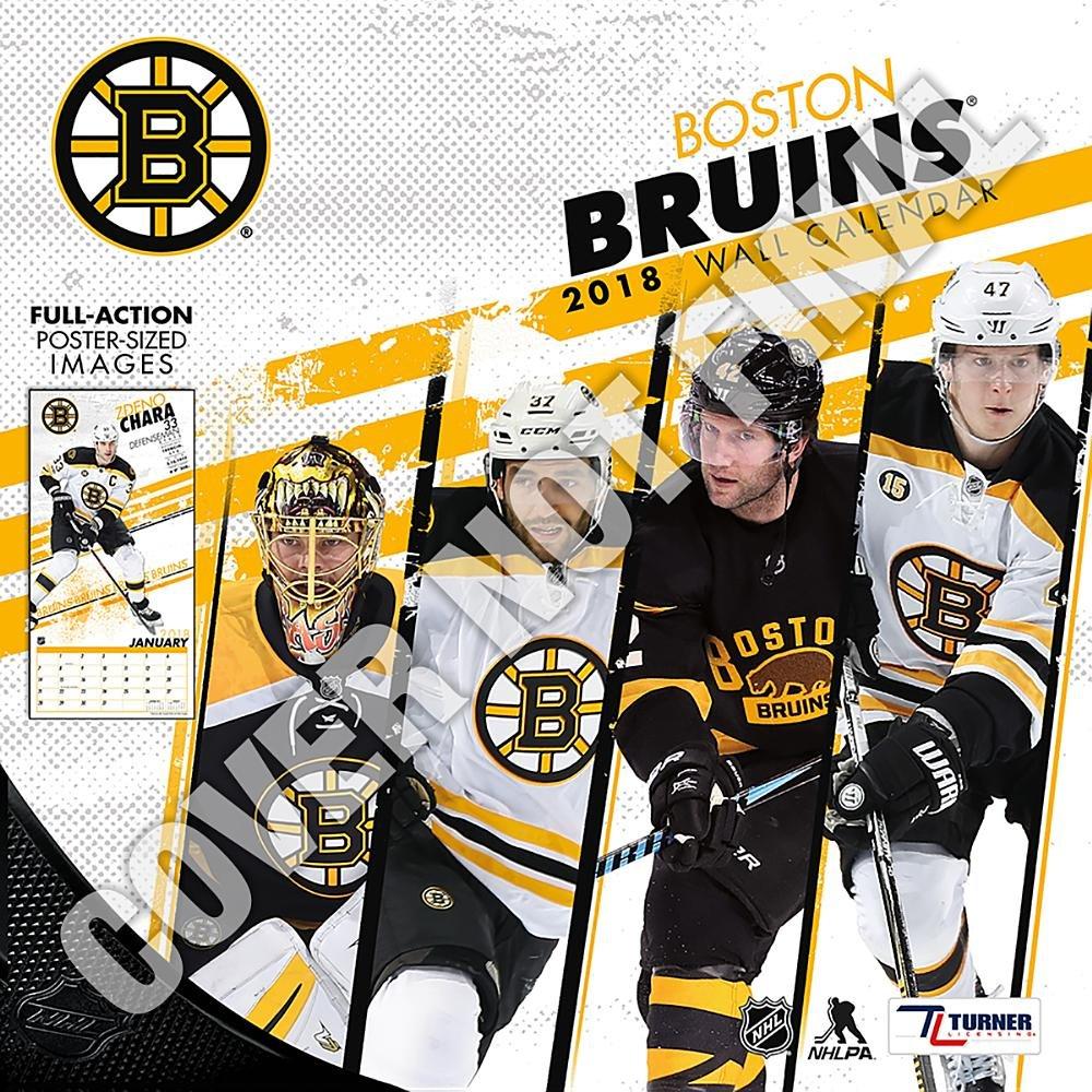 Boston Calendar January 2019 Boston Bruins 2019 Calendar: Lang Holdings Inc.: 9781469360645