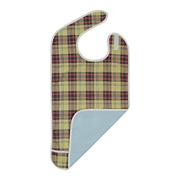 Adult Bib - Reusable Clothing Protector - Waterproof - Crumb Catcher -  Machine Washable - Extra 6ce453965