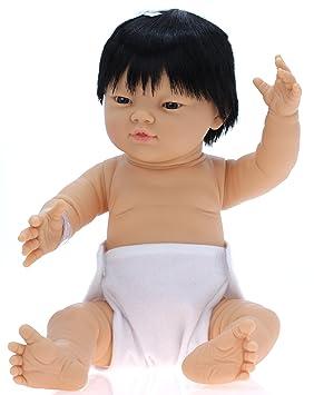 Amazon.es: Belonil - Muñeco bebé recién Nacido de Raza asiática con ...