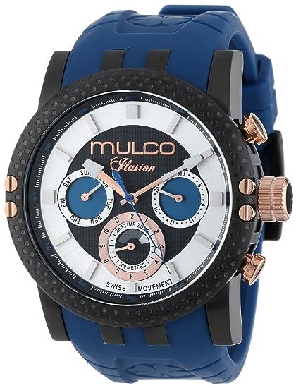MULCO Unisex MW3-11169-045 Lincoln Illusion cron-grafo Analogique Swiss MoveCaballerot Reloj: Mulco: Amazon.es: Relojes
