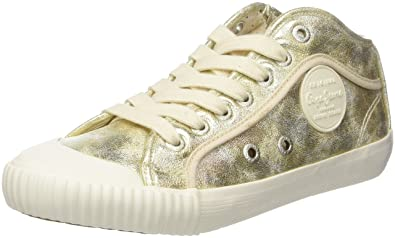 London Industry Met, Sneakers Basses Femme, Or (Gold), 37 EUPepe Jeans London