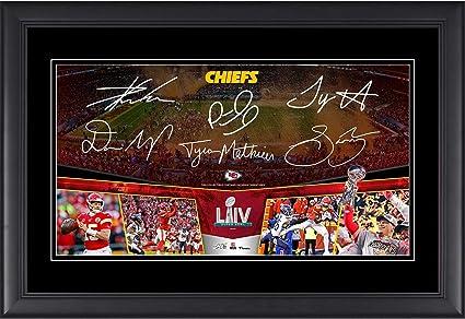 Framed Damien Williams Kansas City Chiefs Super Bowl LIV Champions Autographed 11 x 14 Super Bowl LIV Game Winning Touchdown Spotlight Photograph Fanatics Authentic Certified