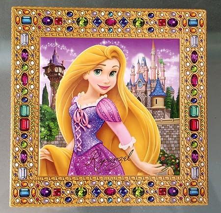 Parque de Disney Rapunzel de Enredados Musical joyería Caja ...