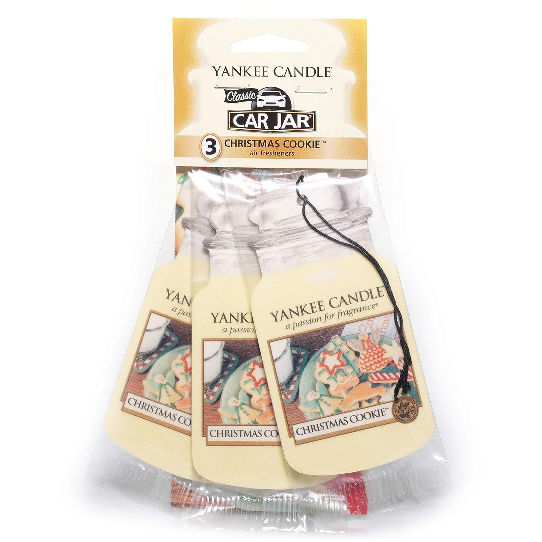 Yankee Candle 1220899 Auto-Lufterfrischer Christmas Cookie Auto Jar Ultimate