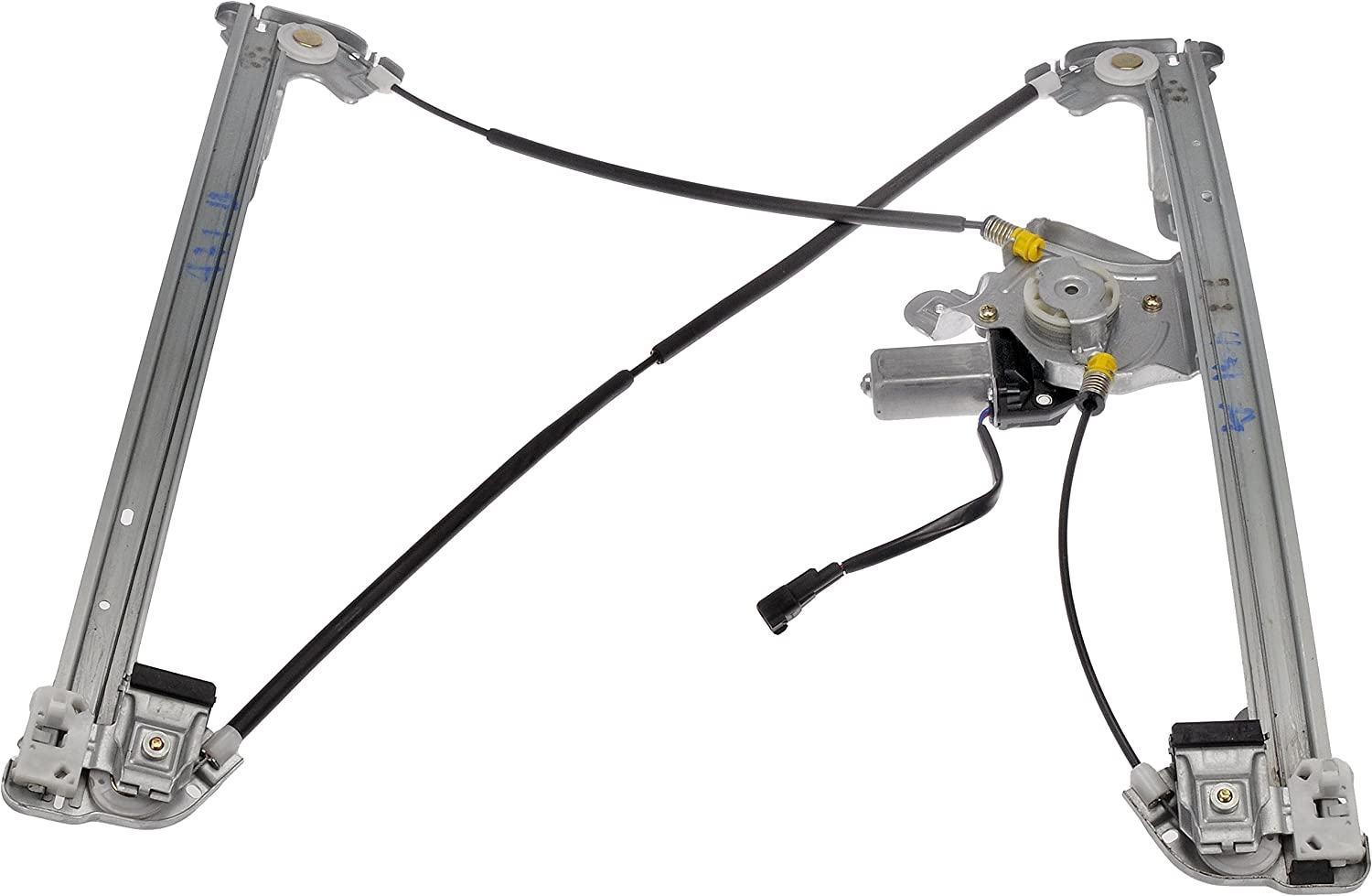 Dorman 741-431 Ford//Lincoln Front Passenger Side Window Regulator with Motor