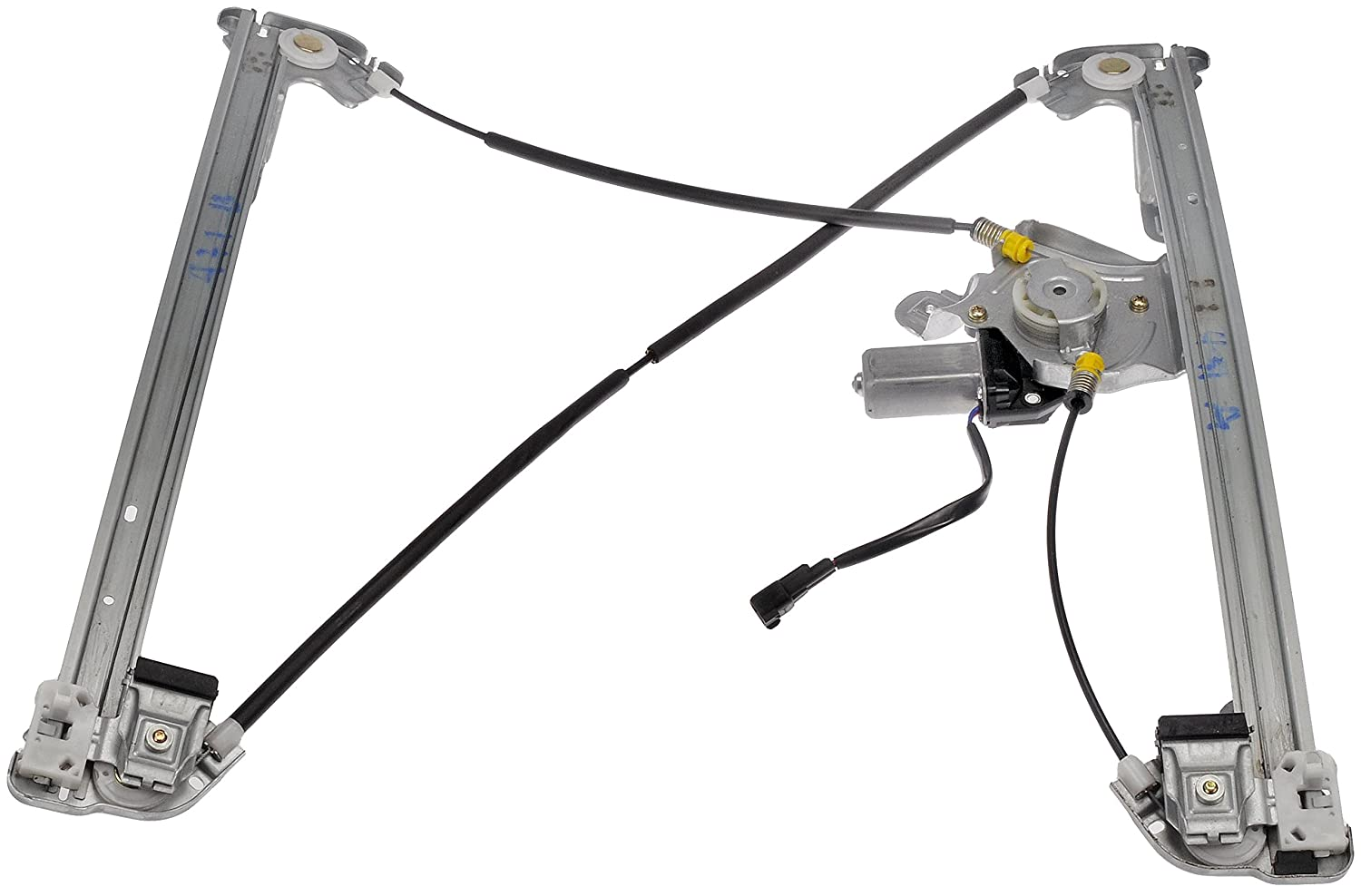 Dorman 741-431 Ford/Lincoln Front Passenger Side Window Regulator with Motor Dorman - OE Solutions