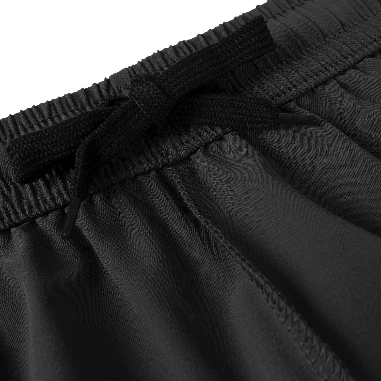 Herren Sport Shorts Schnell Trocknend Kurze Hosen mit Rei/ßverschlusstaschen