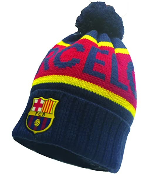 7cebe0d327e Image Unavailable. Image not available for. Color  FC Barcelona Winter Hat  Beanie