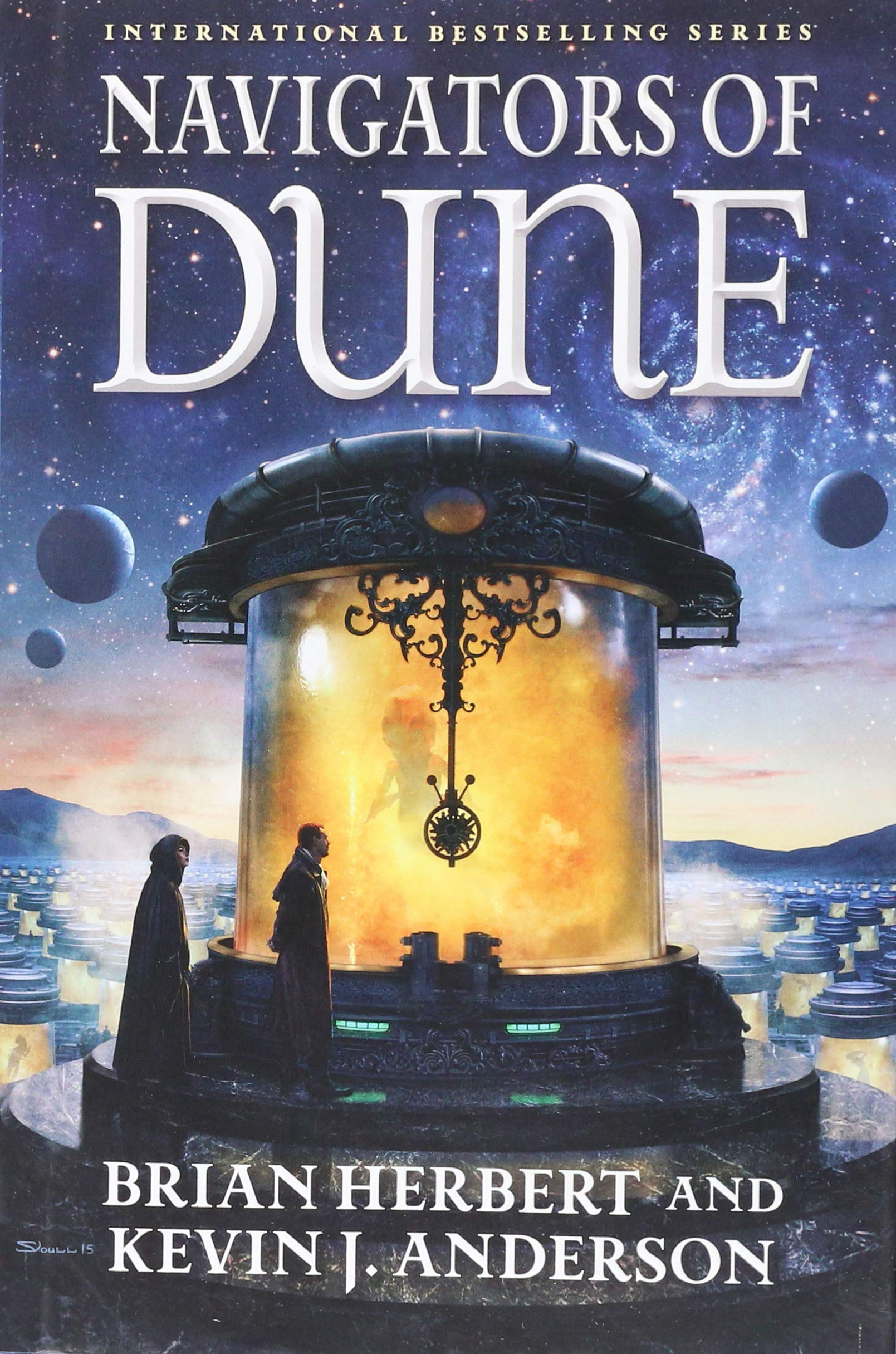 a36374e81bd Navigators of Dune  Book Three of the Schools of Dune Trilogy Hardcover –  Sep 13 2016