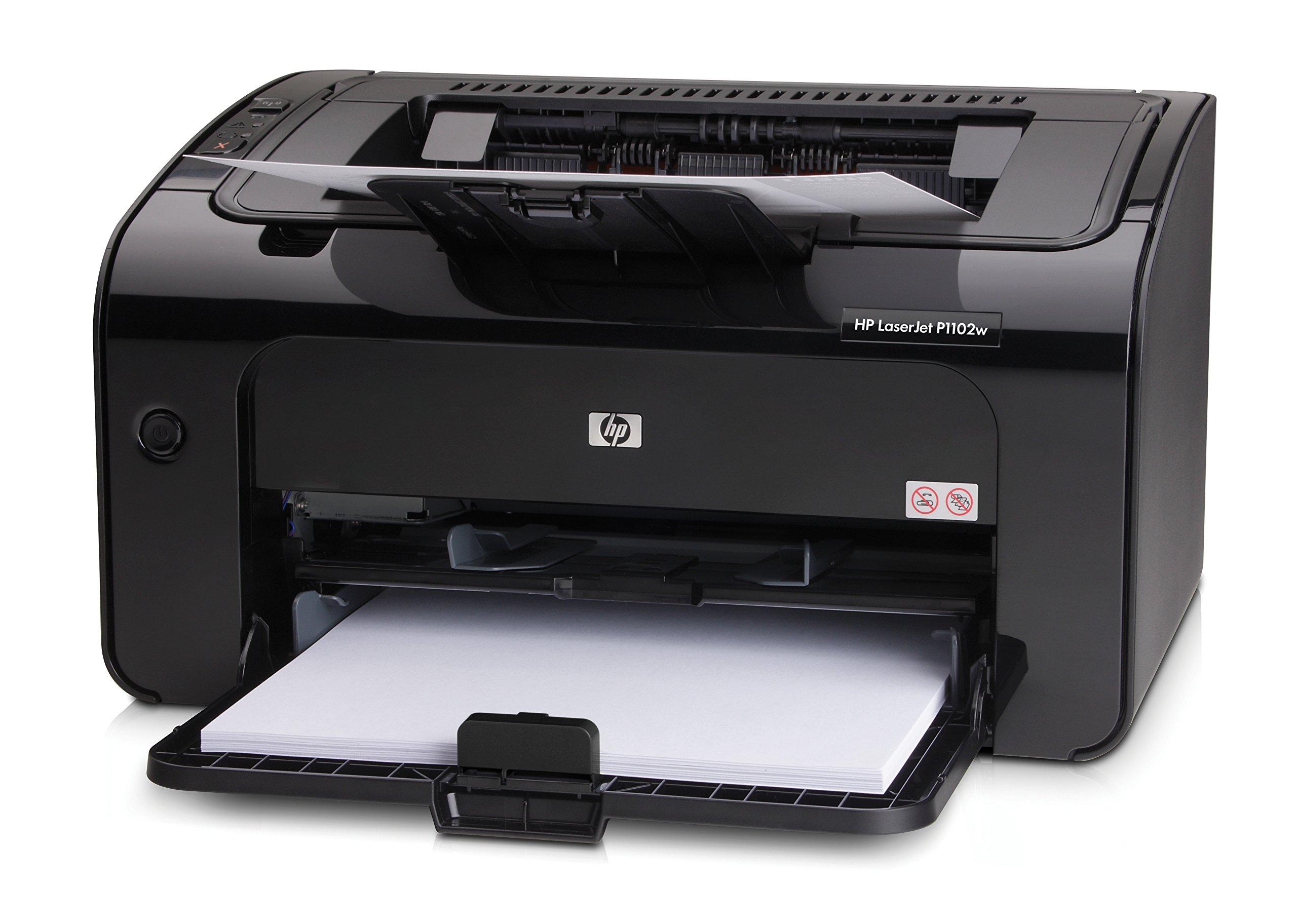 HP LaserJet Pro P1102w Wireless Laser Printer (CE658A) by HP (Image #2)