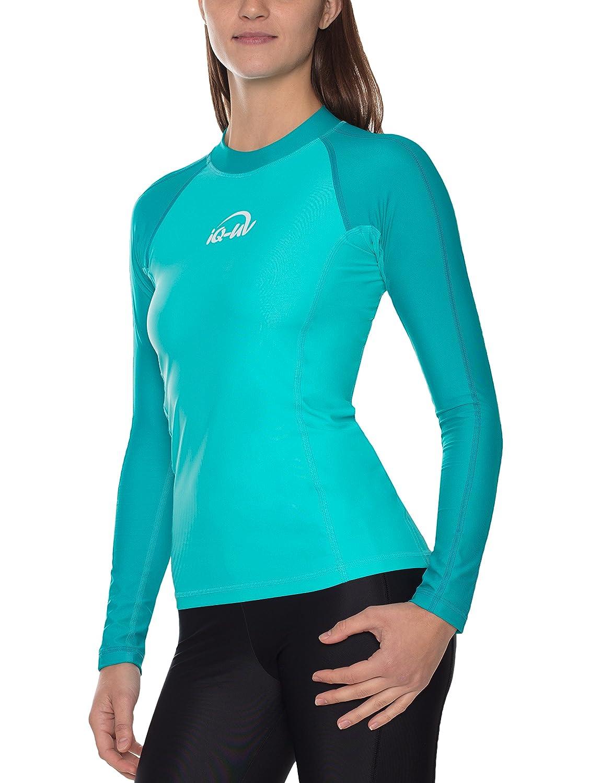 IQ UV Schutz Shirt Damen Damen Damen UV-Schutz Schwimmen Tauchen B077J4RN93 Shirts Vorzugspreis 5ceea3